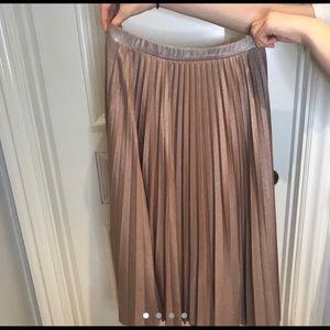 Halogen Blush Shimmering Skirt